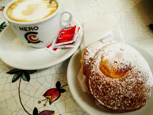 Pasticceria across the via from B&B Roma Central